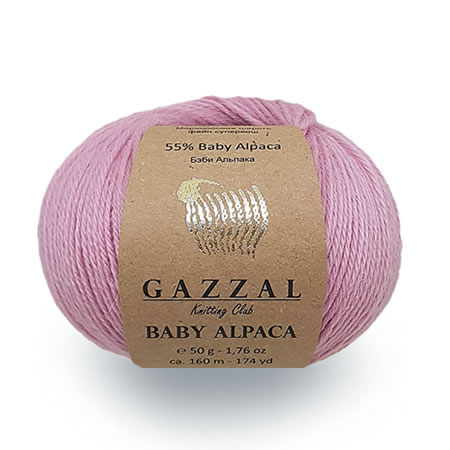 Gazzal Yarn Baby Alpaca Hand Knitting Yarns